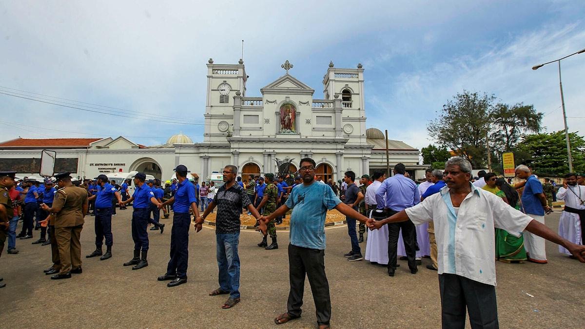 Sri lanka, attentat