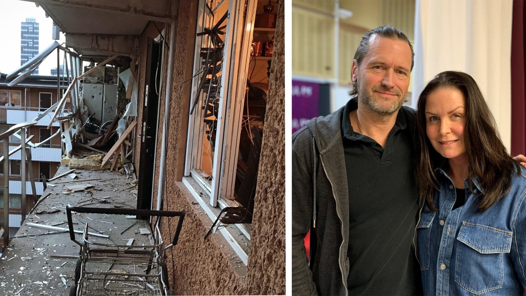 Två sprängningar i Stockholm - vad gäller för de boende? Martin Melin kommer med sin tredje polisroman