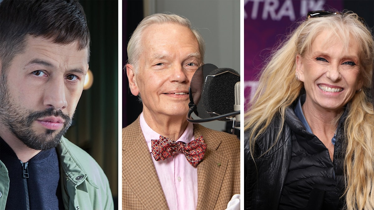 Musse Hasselwall, Carl Jan Granqvist och Sanne Salomonsen