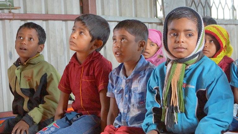 Barn i Bangladesh