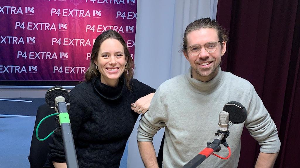 Elsa Crafoord och Adrian Coyet