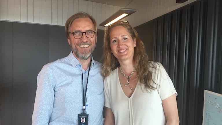Erik Blix och Sanna Klinghoffer