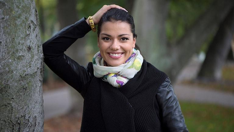 Carin da Silva, dansare och programledare.