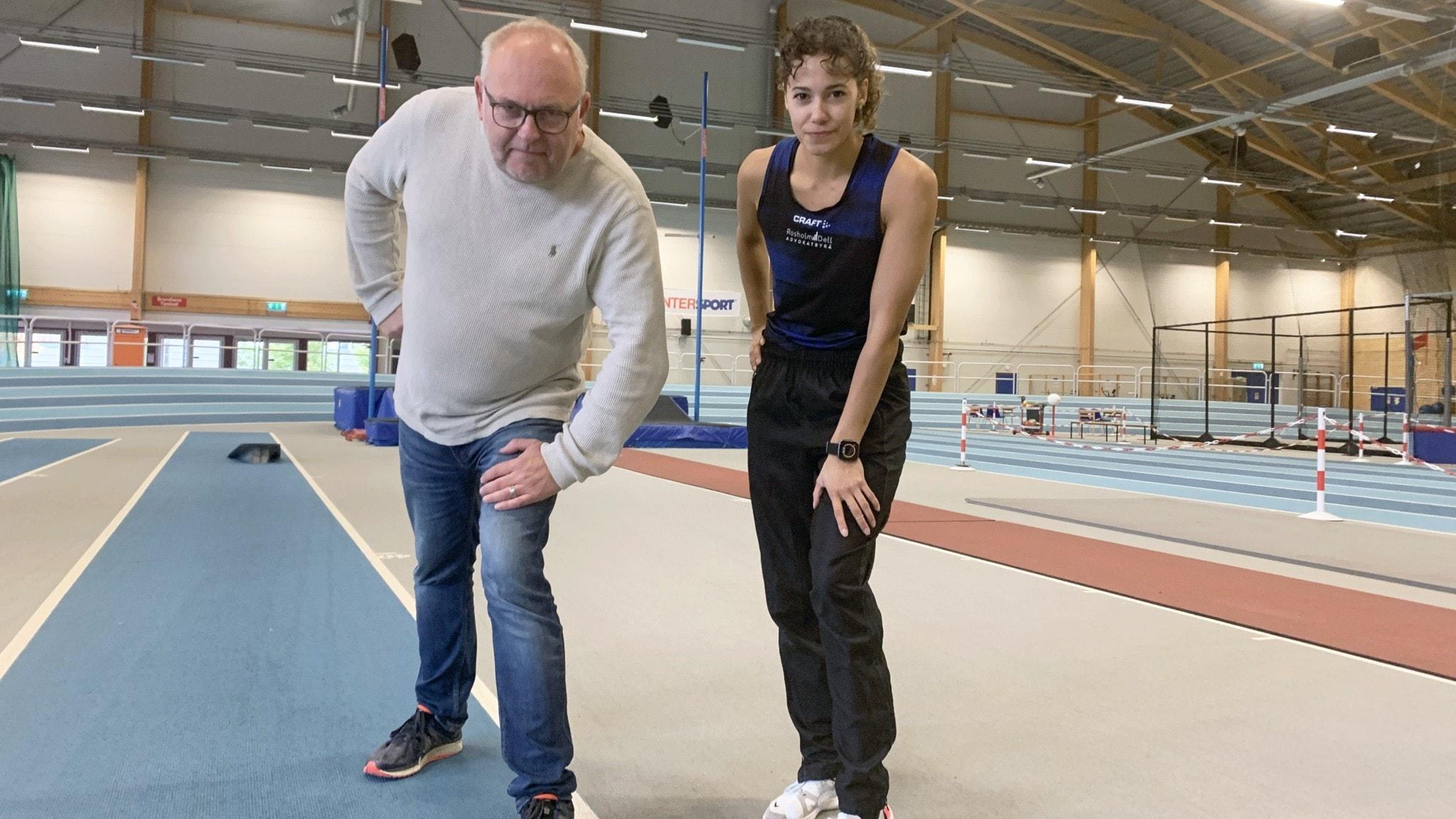 Lasse Persson och Angelika Bengtsson