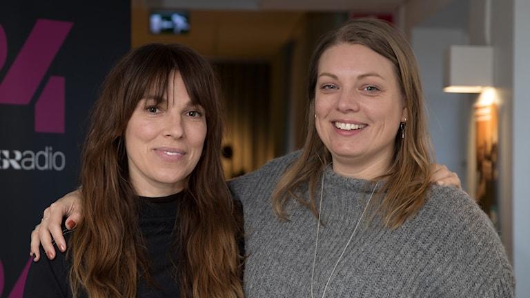Annika Leone och Cilla Holm