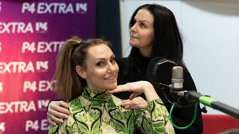 Lina Hedlund och Titti Schultz