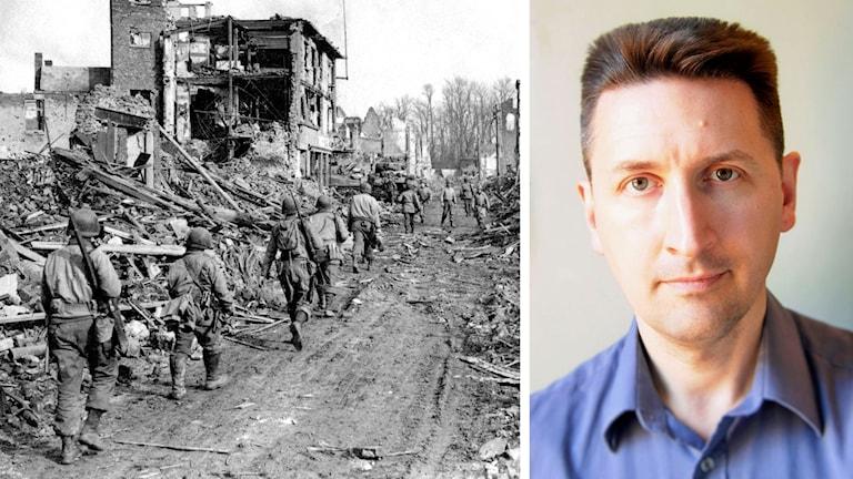 Lars Gyllenhaal är författare till boken Svenskar i strid mot Hitler – I amerikansk krigstjänst 1941–45.