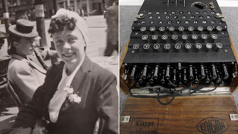 Jane Horley, spion /Enigmamaskin.
