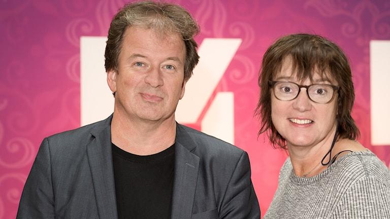 Kjell Westö och Lotta Bromé