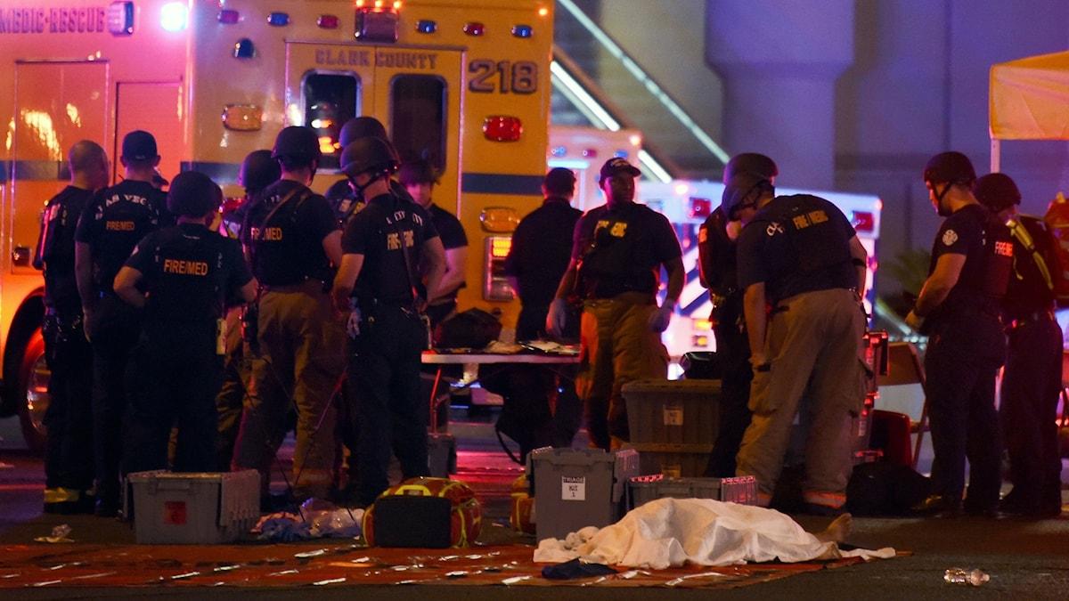 Skottdramat i Las Vegas