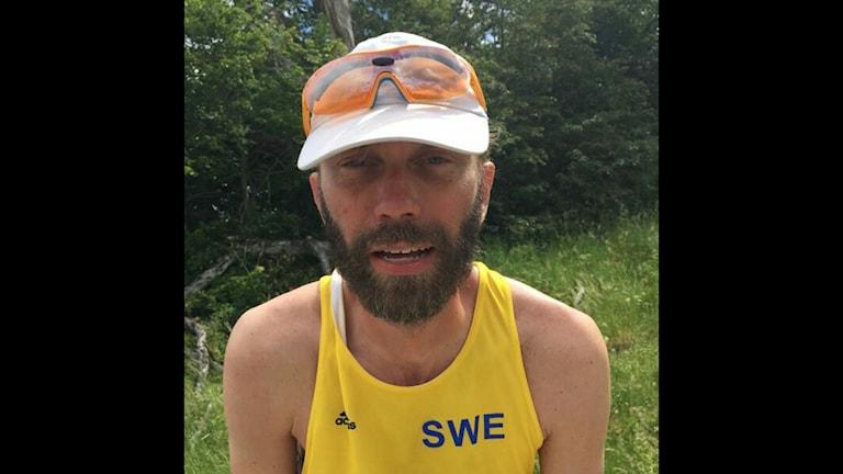 Fredrik Forsström vann förra årets Fotrally efter att ha gått i 87 timmar och 45 minuter.