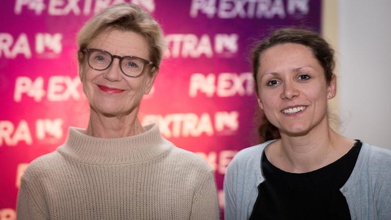 Stina Ekblad och Svjetlana Pastuhovic
