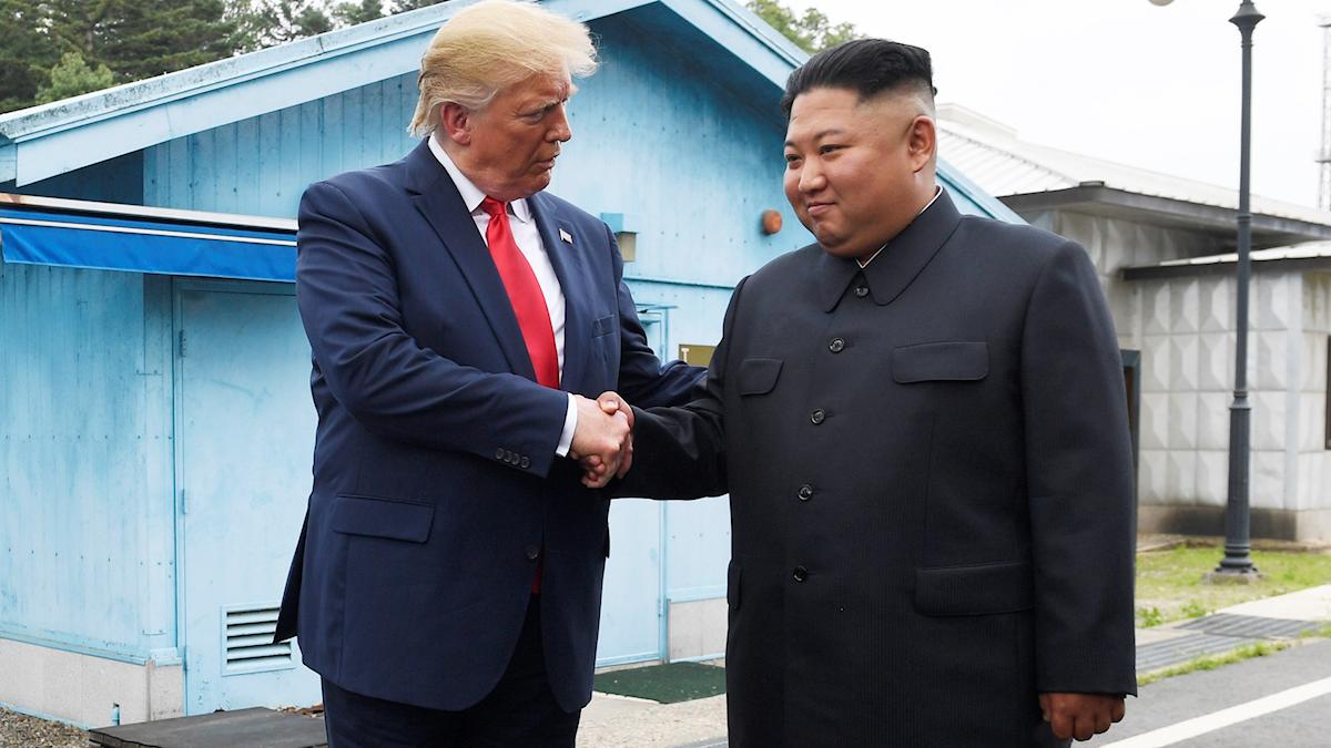 Trump och Jong-Un