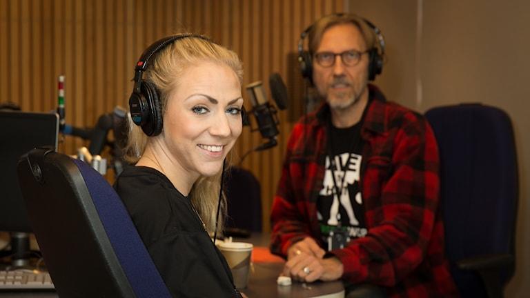 Sofia Olofsson och Erik Blix
