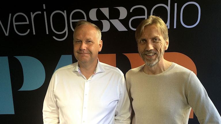 Erik Blix möter Vänsterpartiets Jonas Sjöstedt