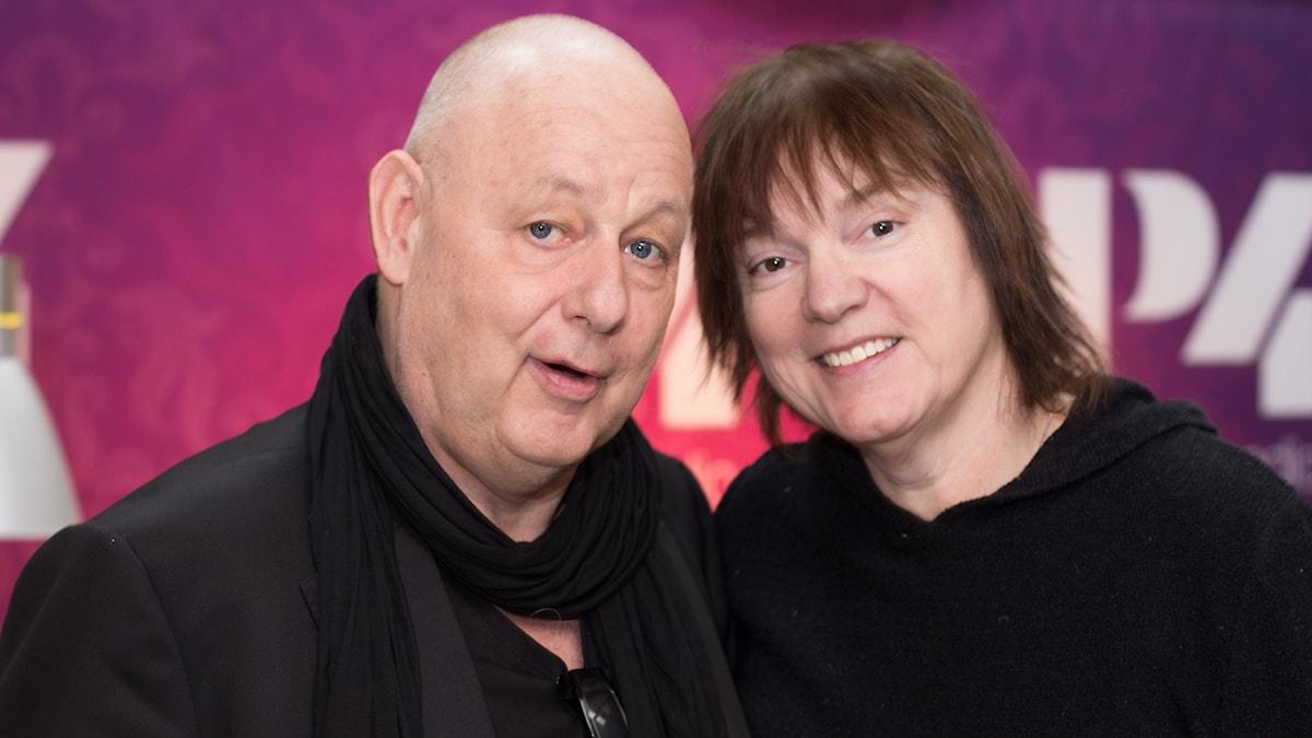 Gert Wingårdh och Lotta Bromé