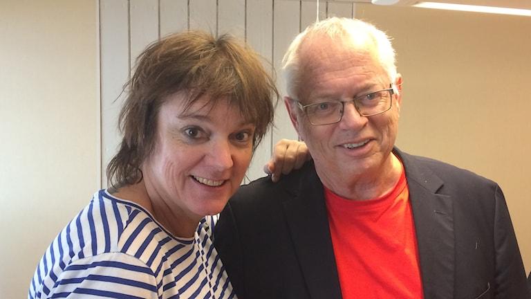 Lotta Bromé och Staffan Ling. Foto: Kajsa Nilsson/ Sveriges Radio