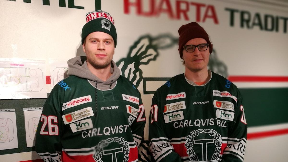 Adrian Saxrud Danielsen och Mats Frøshaug.