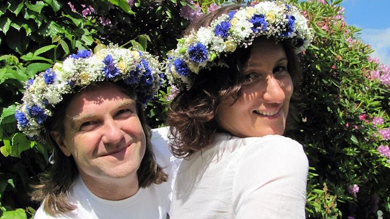 Peje Johansson & Marina Eliasson. Foto: Karin Hellzén/Sveriges Radio