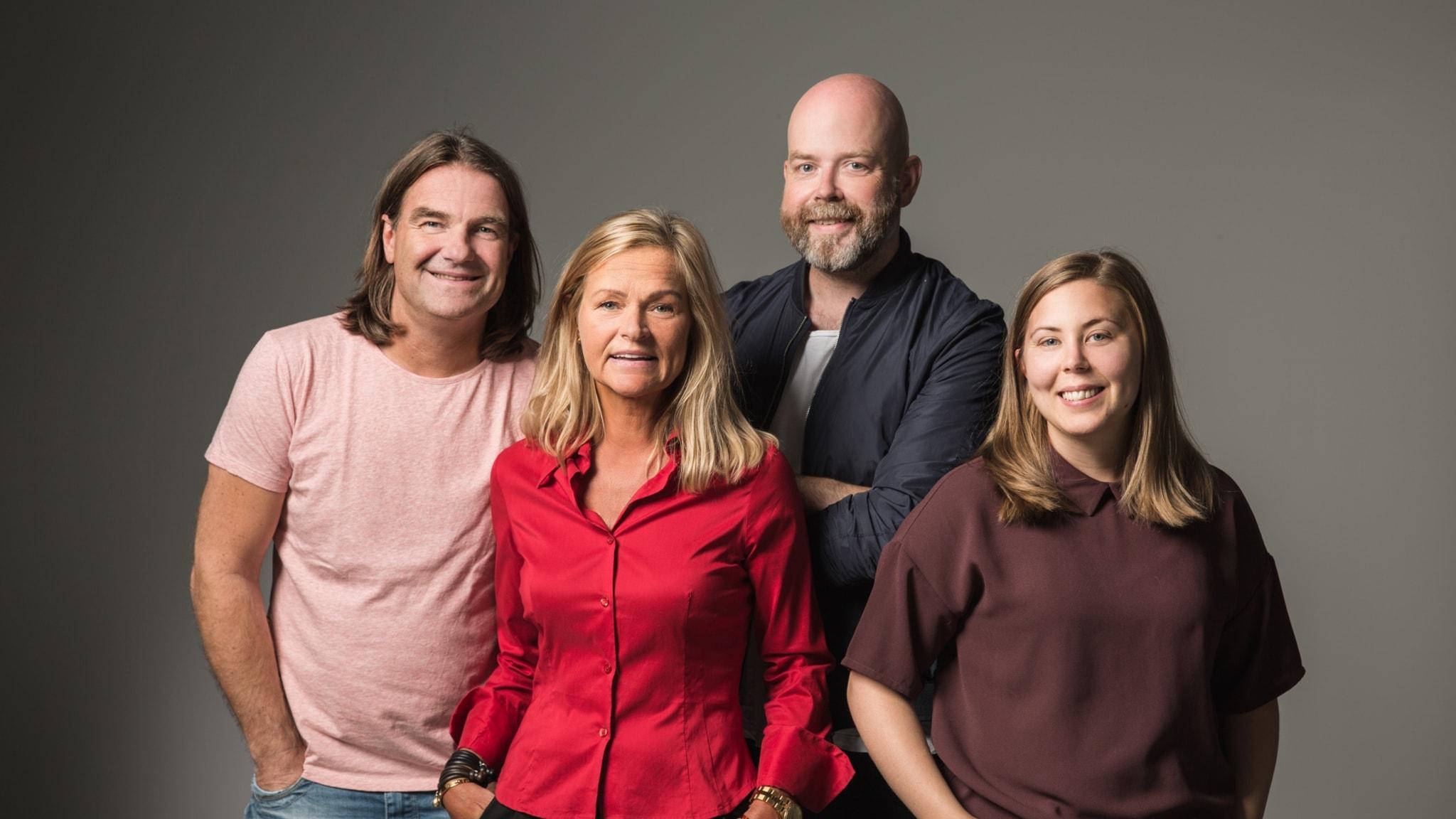 Med Jocke Wallgren och Anna-Stina Stenbäck