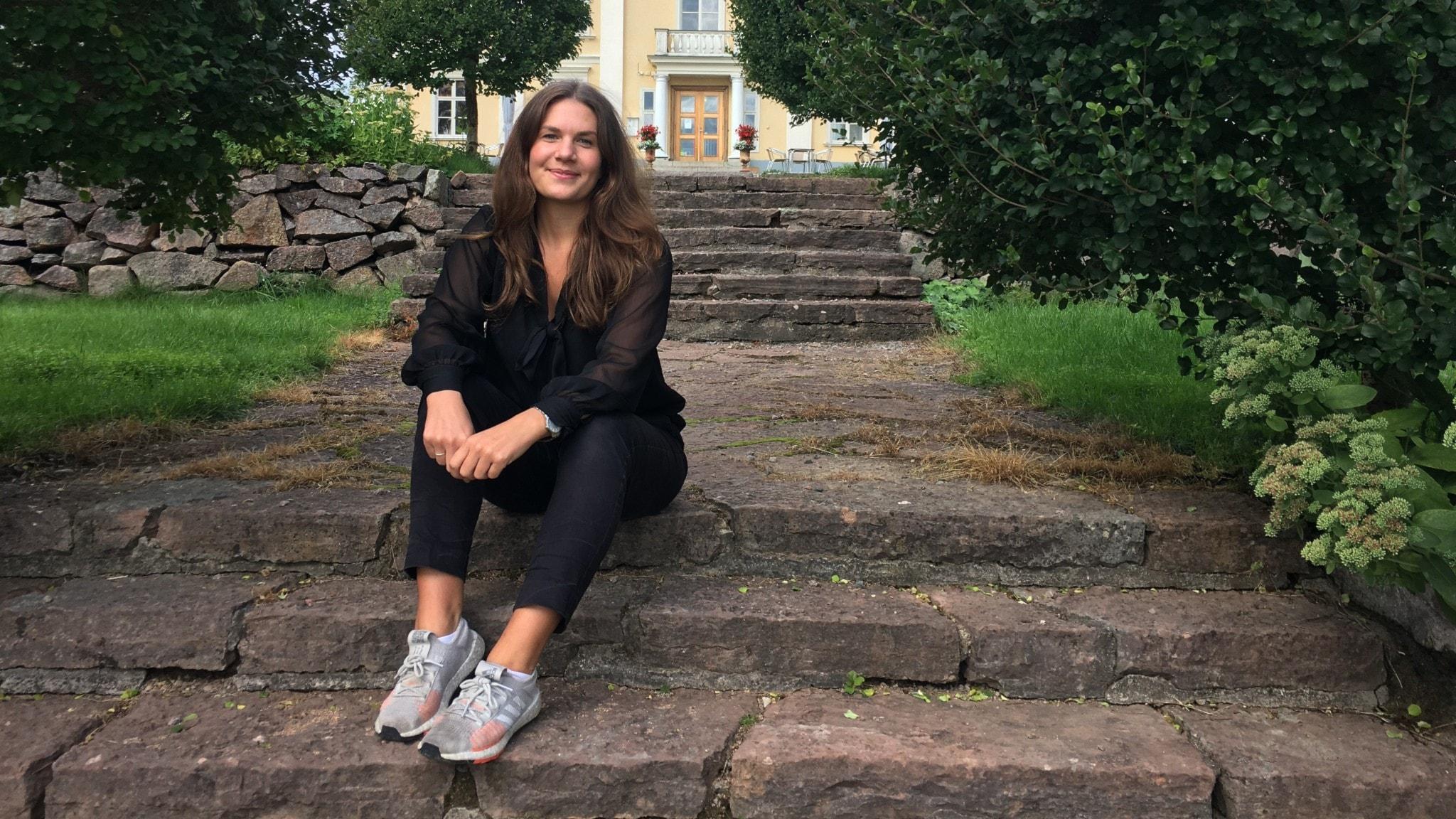 Vi träffar Emma Ekaremål som är vd på Asa Herrgård