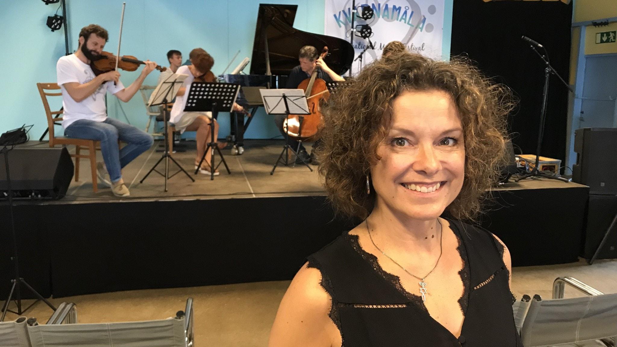 Vi tjuvlyssnar på kammarmusiken inför Kvarnamåla International Music Festival