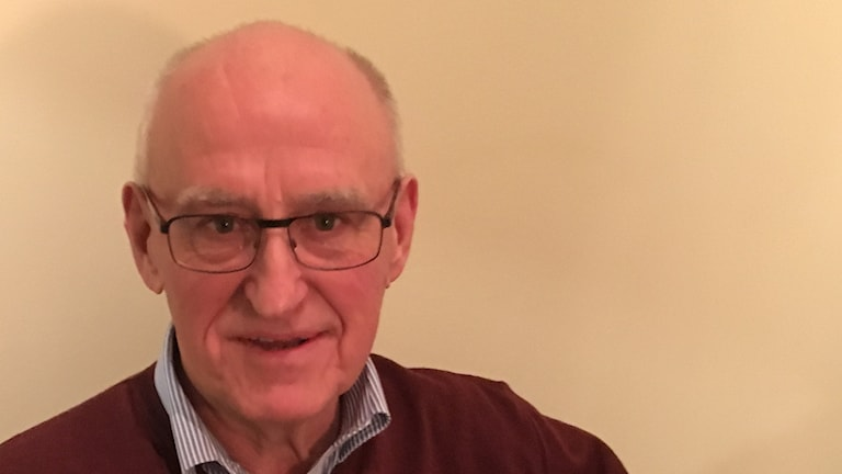 Krister Bengtsson från prostatacancerföreningen Proliv Kronoberg