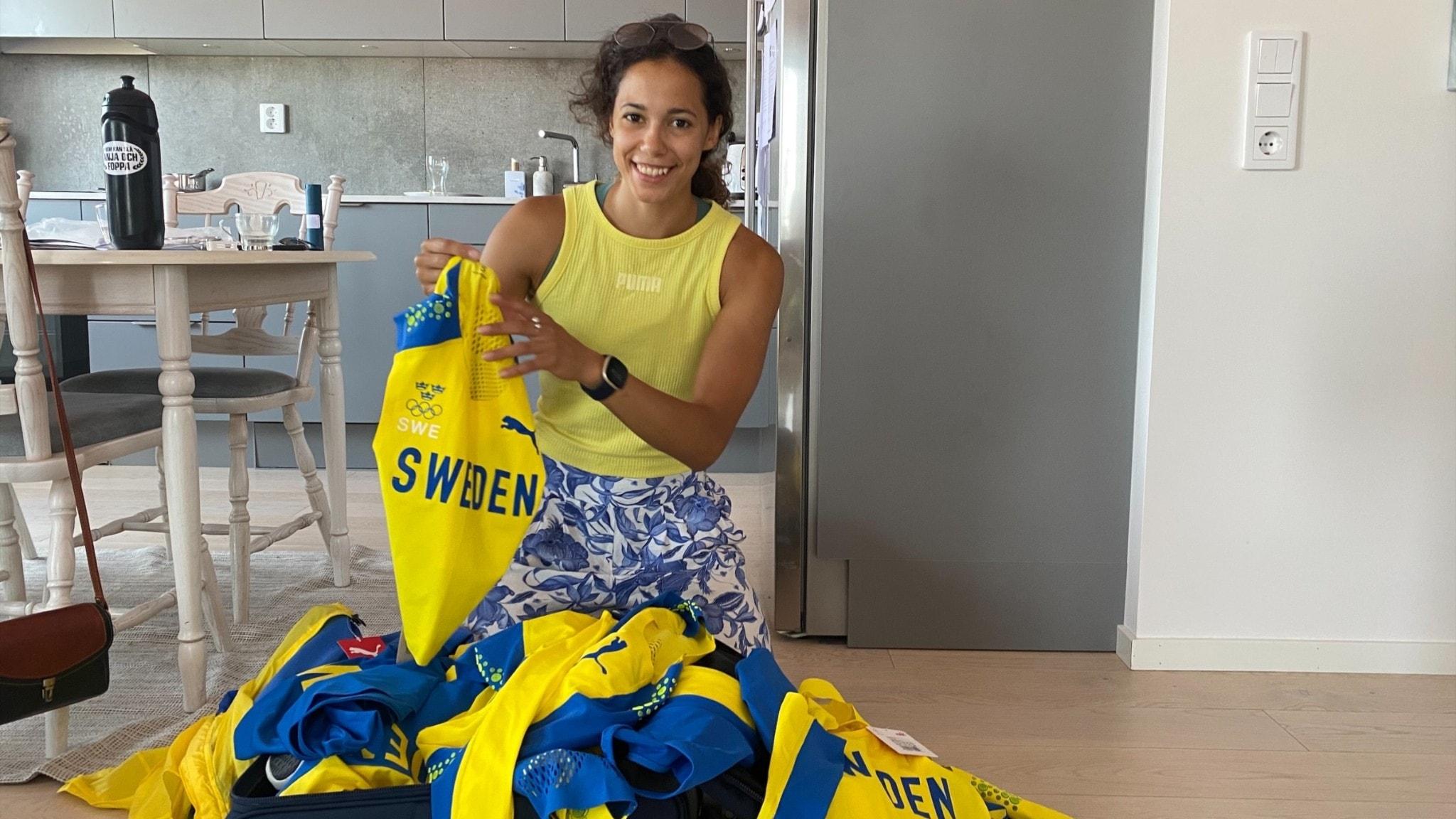 Stavhopparen packar inför sommar-OS