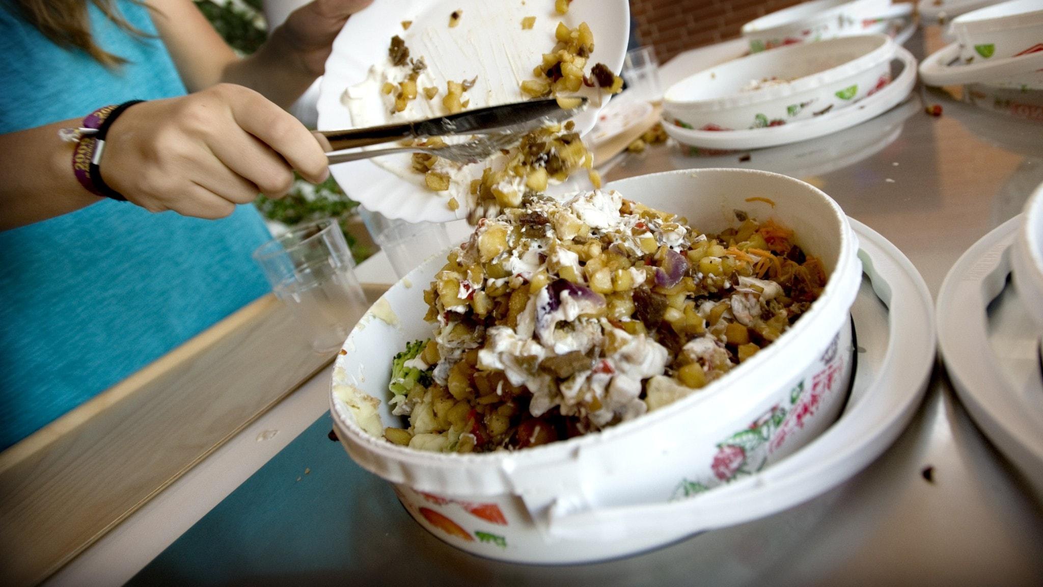 Matsvinn, koll-tävling och bostäder i Markaryds kommun