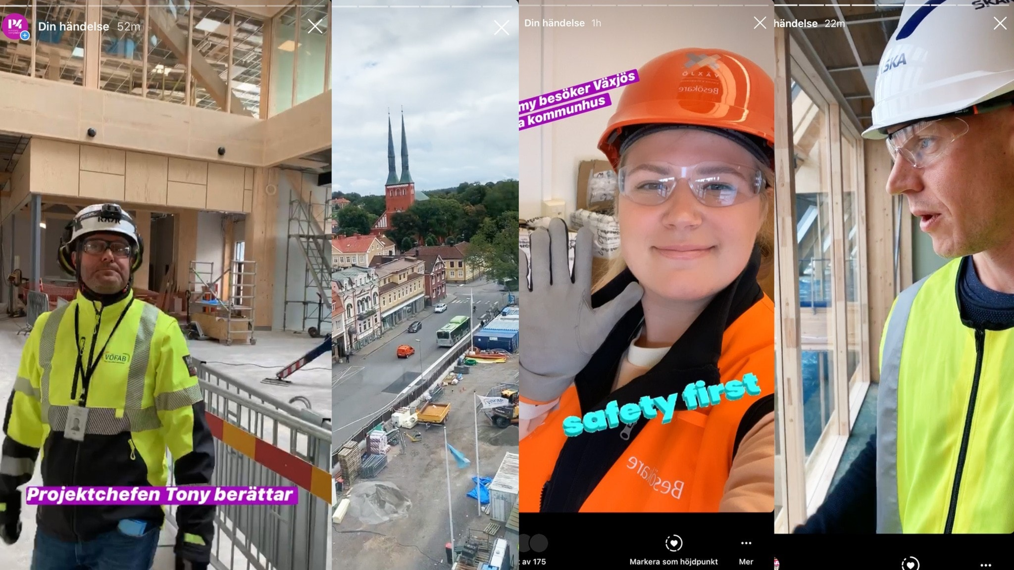 Vi kikar in i det nya Stations- och statshuset i Växjö