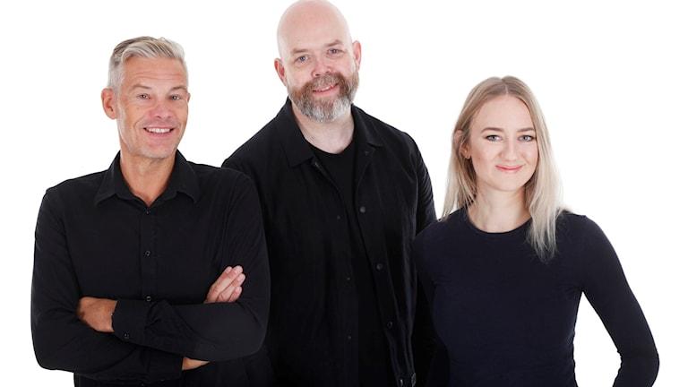 Jeremiah Karlsson från Ljungby berättar om sin nya roman Kärlekens kedjor.