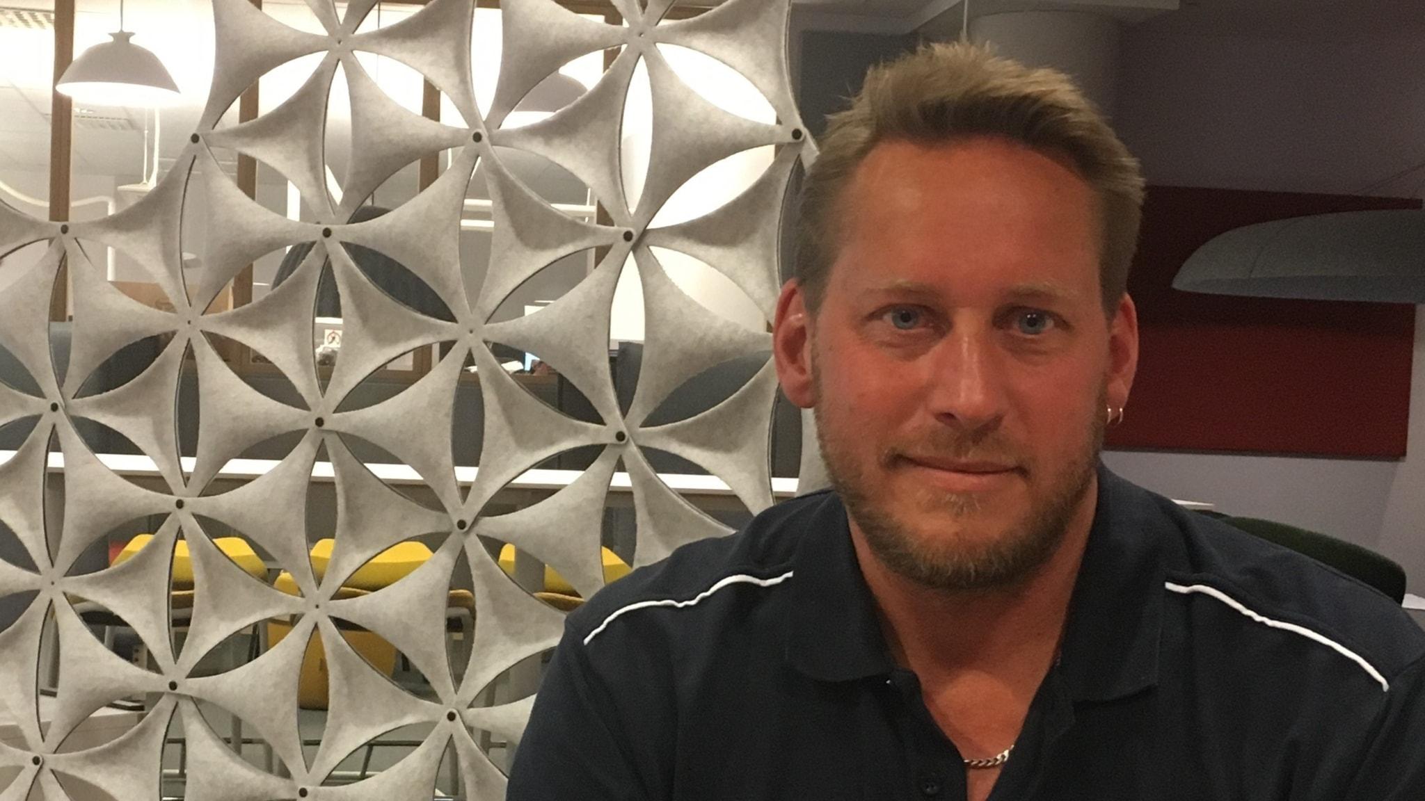 Peter Waldener laddar upp inför Sweden Rock Festival