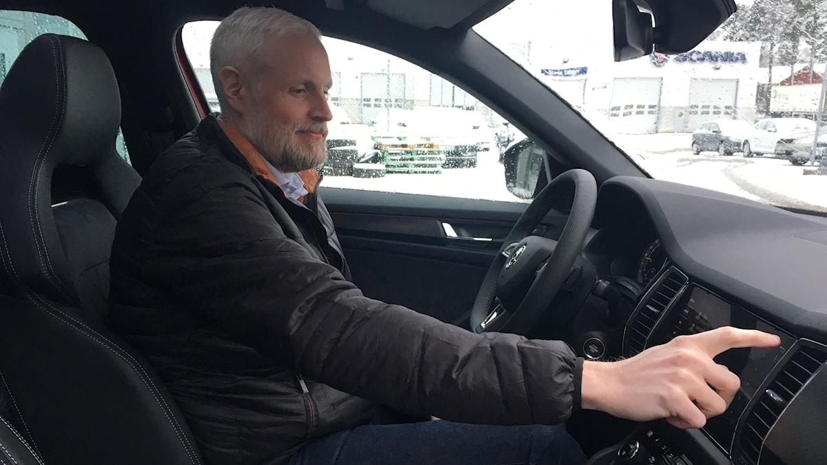 Bilförsäljare Rickard Andersson
