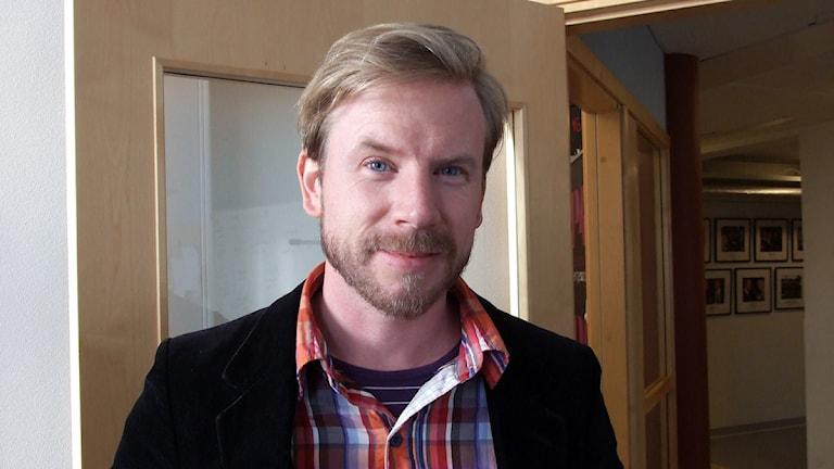 Regissören Axel Danielsson är aktuell med filmen Pangpangbröder. Foto: Fabian Rimfors/Sveriges Radio