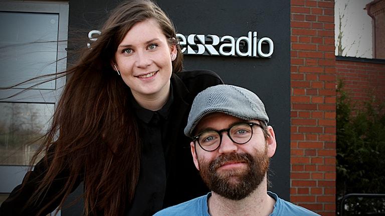 Cecilia Ahle och Conny Emmelin. Foto: Björn Holgersson/Sveriges Radio