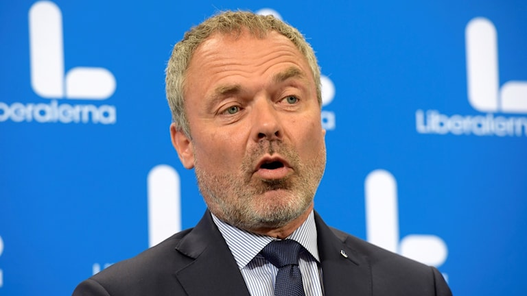 Hoggaamiyaha Liberalerna Jan Björklund.