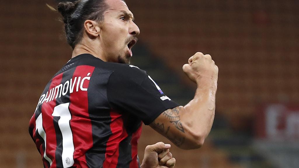 Ciyaaryahanka kooxda Milan ee Zalatan Ibraahimovic oo laga heley covid-19.