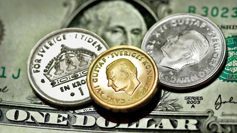 Dollar och krona