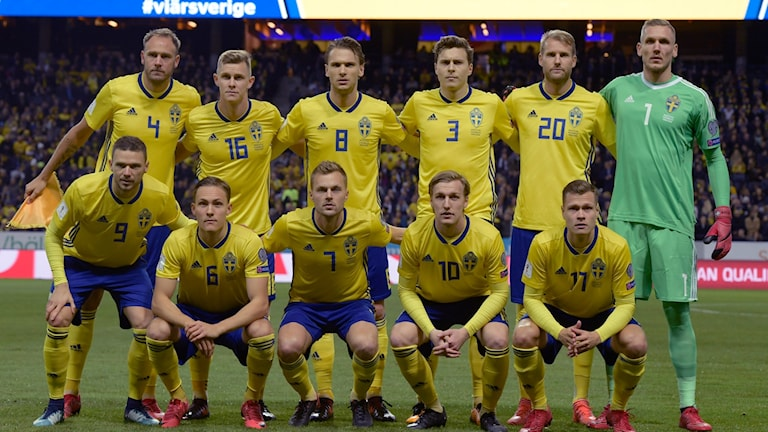 Kooxda qaranka ee kubada cagta Sweden.