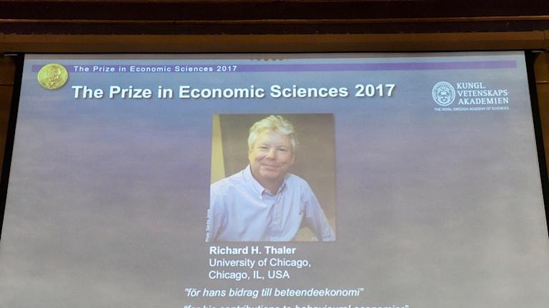 professor Richard H Thaler på University of Chicago Booth School of Business