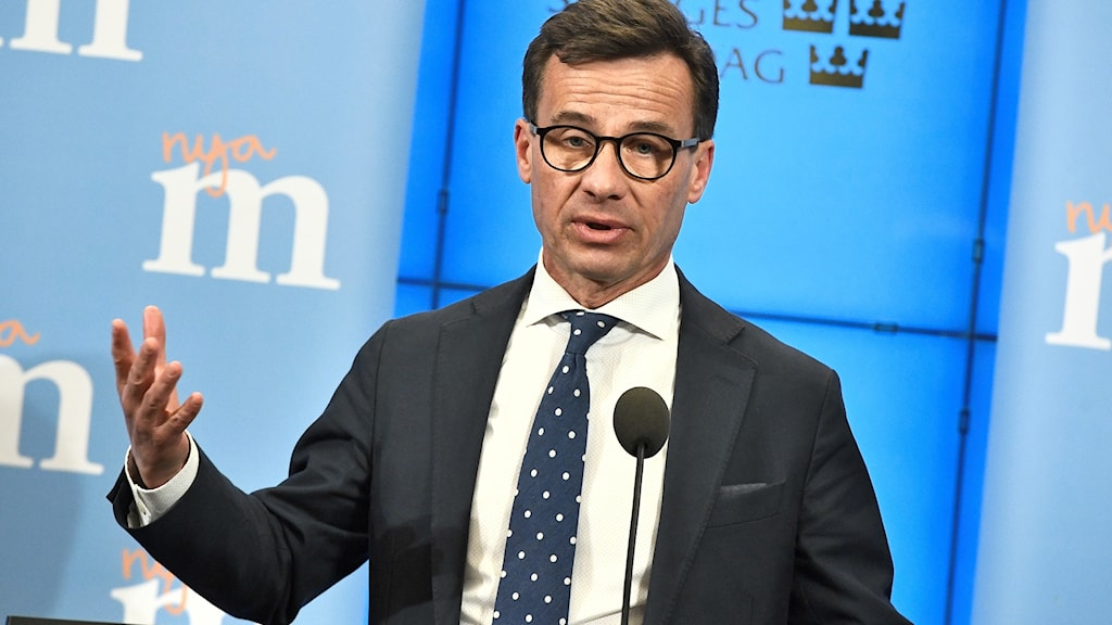 Ulf Kristersson announced his candidacy to be the next Moderate party leader on Friday.