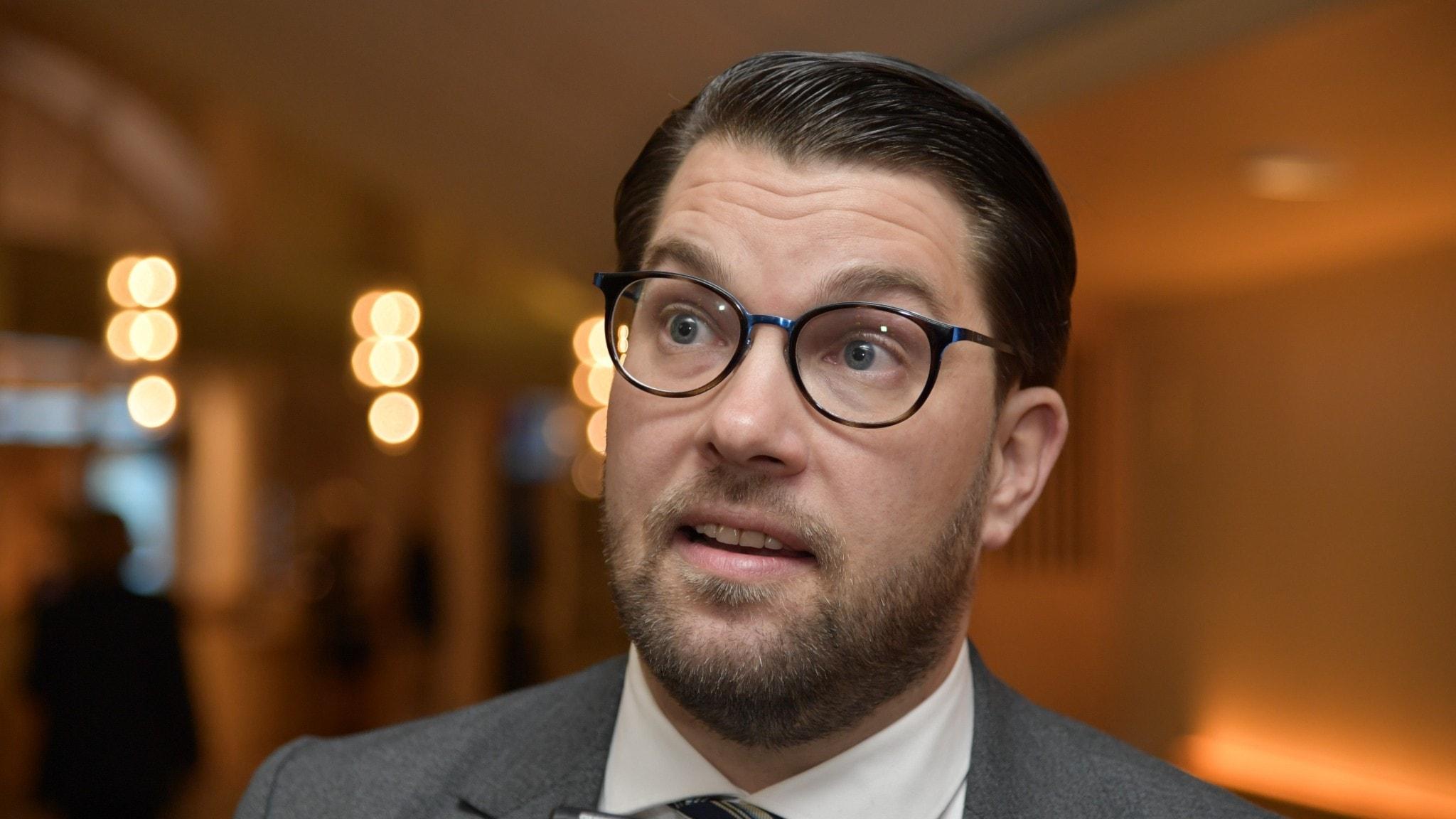 Hogaamiyaha xisbiga SD Jimmie Åkesson.