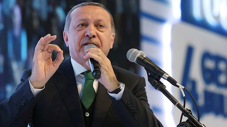 Rai`ssal wassaaraha waddanka Turkiya Recep Tayyip Erdogan.