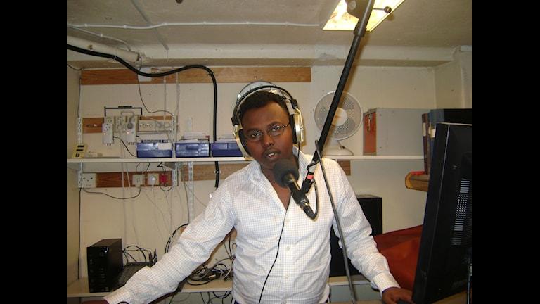 Mukhtar Maxamed Yusuf, frilansjournalist. Foto: Eget