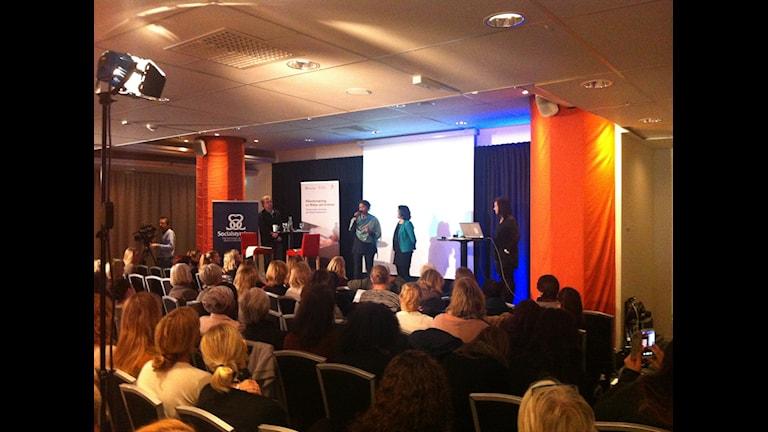 Internationella dagen för könsstympning. Foto: Kenadid Mohamed/SR Radio Sweden.