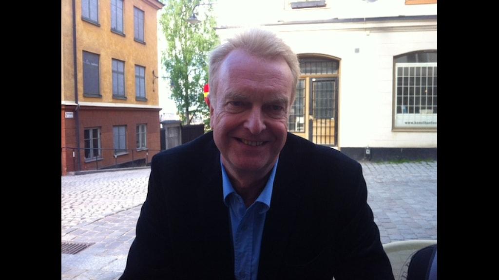 Tomas Magnusson, författare. Kommer snart ut med en bok om Somalia.Foto: Kenadid Mohamed/SR, Radio Sweden.