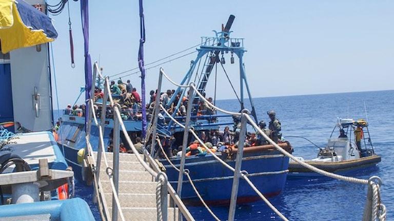 Foto: KBV 001 Poseidon / Kustbevakningen/TT