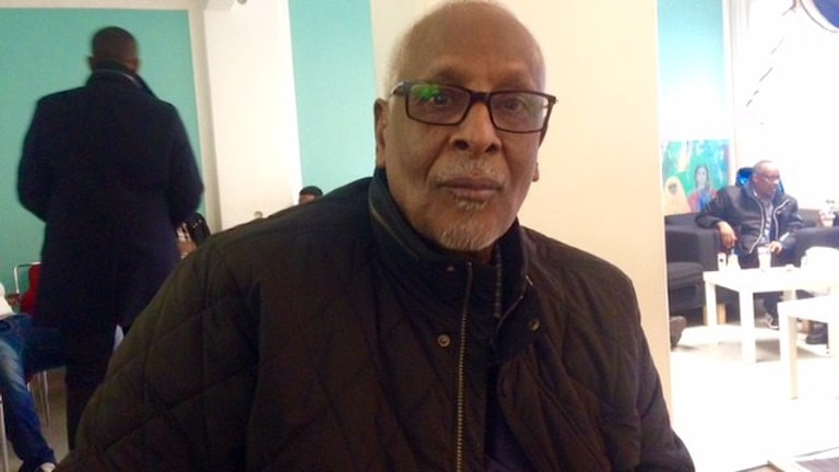 Abukar Abdi Hussein, hawlgab Iswiidhan ku nool. Foto: Warsame Elmi/SR