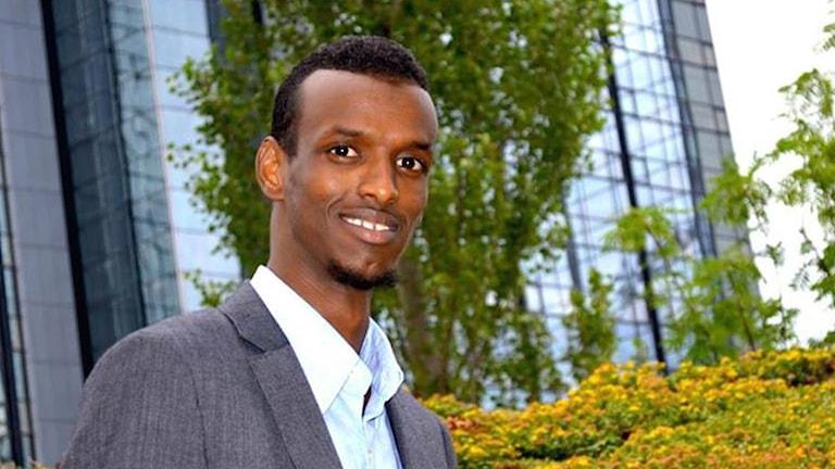 Abdikhadar Omar i Föreningen I SIN SAMTID