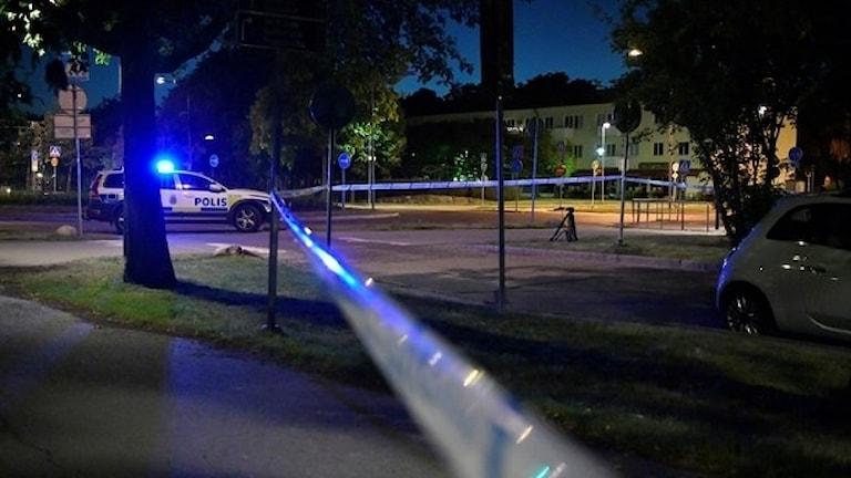 Tolv människor skjutits ihjäl i Stockholms län i år. Foto: Vilhelm Stokstad/TT